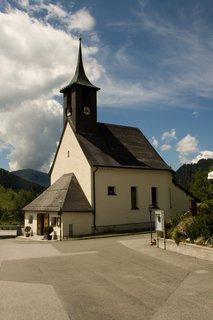 FOTKA - Školní výlet k Triefen - Kostelík v Hinterthalu