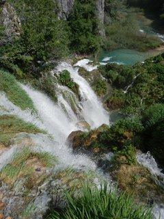 FOTKA - nad vodopádem (Plitvická jezera)
