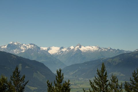 FOTKA - Výšlap ke Steinalm - Pohoří Kitzsteinhornu