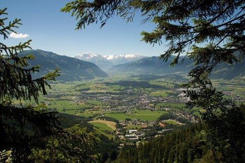 FOTKA - Výšlap ke Steinalm - Údolí Saalfeldenu