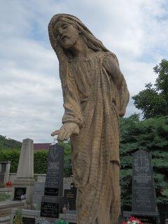 FOTKA - Autorem sochy na libčickém hřbitově je známý sochař František Bílek (1872 – 1941)