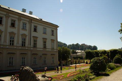 FOTKA - Školní výlet do Salzburgu - Zámek Mirabell