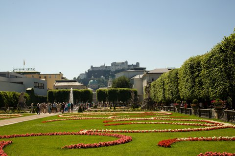 FOTKA - Školní výlet do Salzburgu - Mirabellská zahrada
