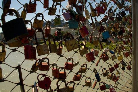 FOTKA - Školní výlet do Salzburgu - Zámky zamilovaných na Makartsteg
