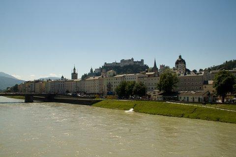 FOTKA - Školní výlet do Salzburgu - Pohled na Staré Město