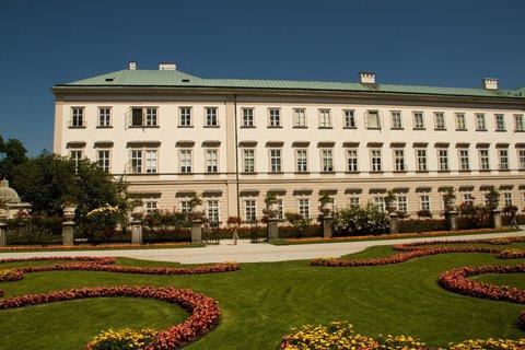 FOTKA - Školní výlet do Salzburgu - Mirabellský zámek