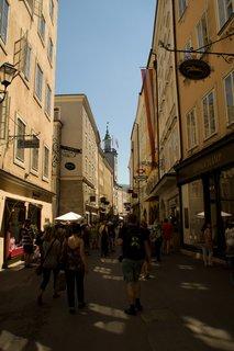 FOTKA - Školní výlet do Salzburgu - Getreidegasse