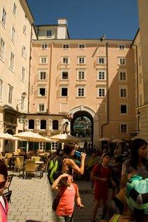 FOTKA - Školní výlet do Salzburgu - V uličkách Salzburgu