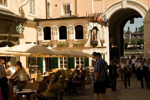FOTKA - Školní výlet do Salzburgu - V Salzburgu
