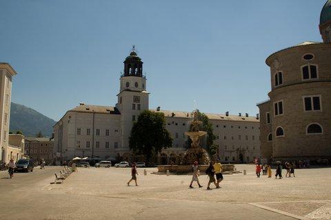 FOTKA - Školní výlet do Salzburgu - Residenzplatz