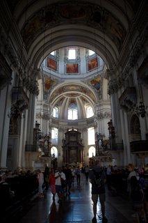 FOTKA - Školní výlet do Salzburgu - Interiér dómu