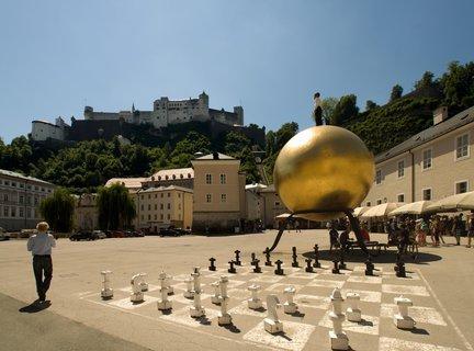 FOTKA - Školní výlet do Salzburgu - Kapitelplatz