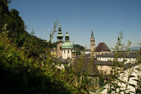 FOTKA - Školní výlet do Salzburgu - Nad střechami Salzburgu