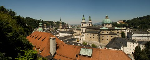 FOTKA - Školní výlet do Salzburgu - Pohled na Altstadt