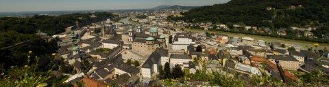 FOTKA - Školní výlet do Salzburgu - Panorama Salzburgu