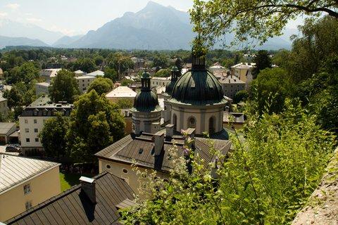 FOTKA - Školní výlet do Salzburgu - Cestou z pevnosti