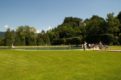 FOTKA - Školní výlet do Salzburgu - Hellbrunnský park