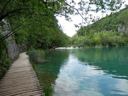 FOTKA - to je vodička.....Plitvice / Chorvatsko