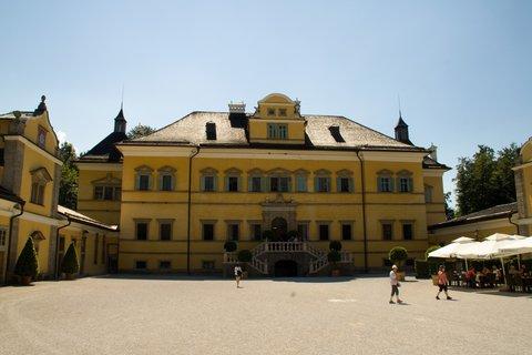 FOTKA - Školní výlet do Salzburgu - Zámek Hellbrunn