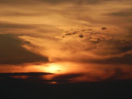FOTKA - večerní nebe