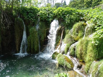FOTKA - další vodopádky  (Plitvice)