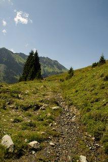 FOTKA - Na konci údoli Saalbach-Hinterglemmu - Stezka nahoru