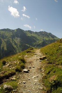 FOTKA - Na konci údoli Saalbach-Hinterglemmu - Stezkou nahoru