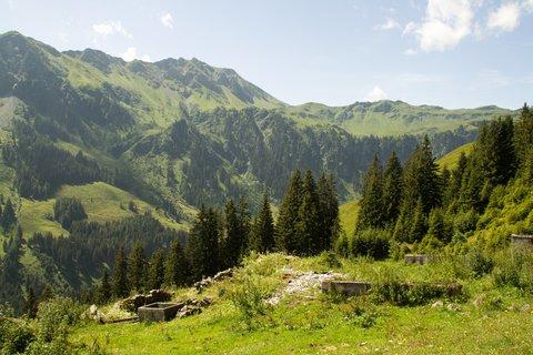 FOTKA - Na konci údoli Saalbach-Hinterglemmu - Ruina