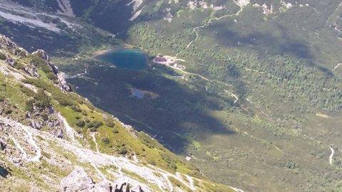 FOTKA - z výšky vidieť Pleso