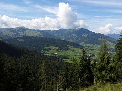 FOTKA - Výšlap k Lechner Alm - Pohled na marialmské údolí