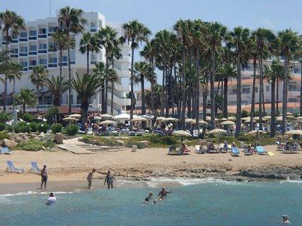 FOTKA - pohľad z mora na hotel