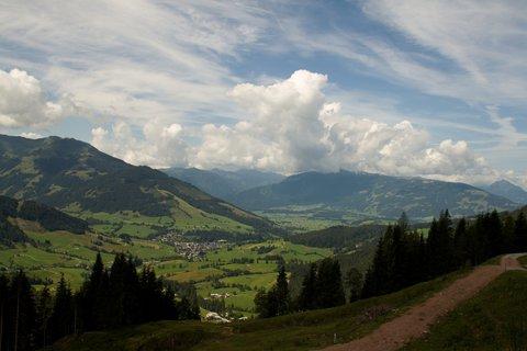 FOTKA - Výšlap k Lechner Alm - Nádherné panorama