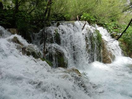 FOTKA - Plitvice / vodopády / Chorvatsko