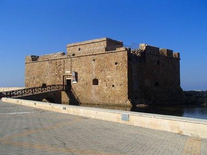 FOTKA - Cyprus - Pafoská pevnosť