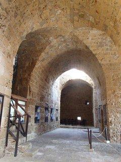 FOTKA - Cyprus - Pafoská pevnosť - interiér