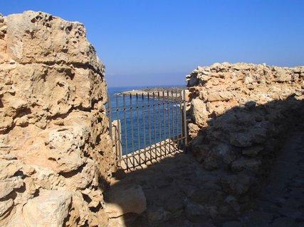 FOTKA - Cyprus - Pafoská pevnosť - horné poschodie