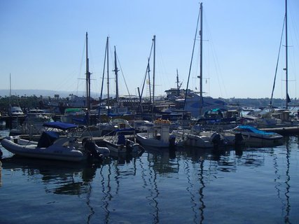 FOTKA - Cyprus - lode v prístave