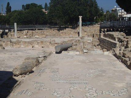 FOTKA - Cyprus - Ayia Kyriaki Chrysopolitissa - pozostatky stavby
