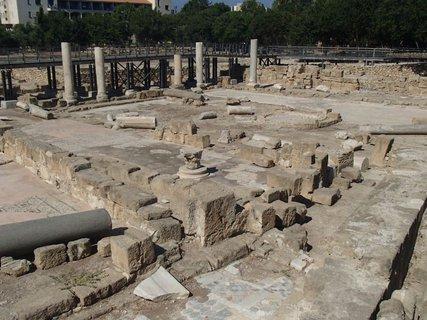 FOTKA - Cyprus - Paphos - ruiny niekdajšej baziliky