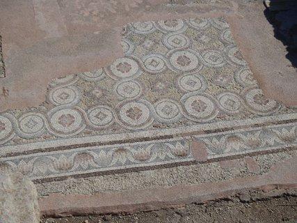 FOTKA - Cyprus - Paphos - pôvodné byzantské mozaiky
