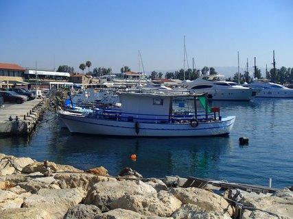 FOTKA - Cyprus - Phapos - prístav nachádzajúci sa pri pevnosti