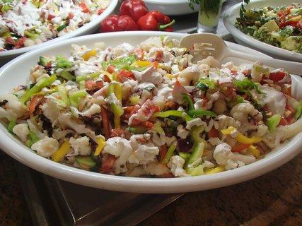 FOTKA - Cyprus - zeleninové predjedlá boli výborné
