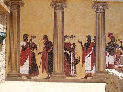 FOTKA - Cyprus - maľby z histórie