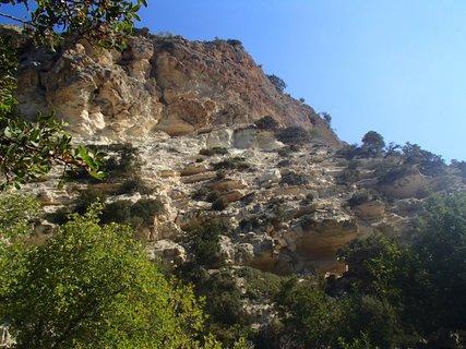 FOTKA - Cyprus -  poloostrov Akamas - skalistý terén