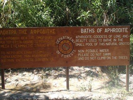 FOTKA - Cyprus - Afroditine kúpele