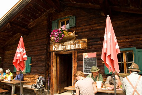 FOTKA - Výšlap na Kallbrunnalm - Kallbrunnalm