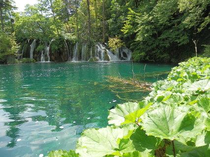 FOTKA - vodopády kam se podíváš (Plitvice)