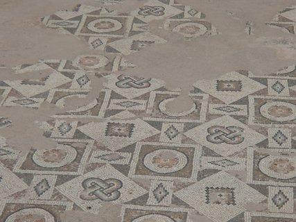 FOTKA - Cyprus - zachované mozaiky