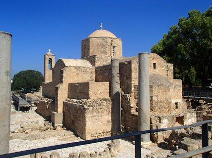 FOTKA - Cyprus - Ayia Kyriaki Chrysopolitissa - kostol z 13. storočia