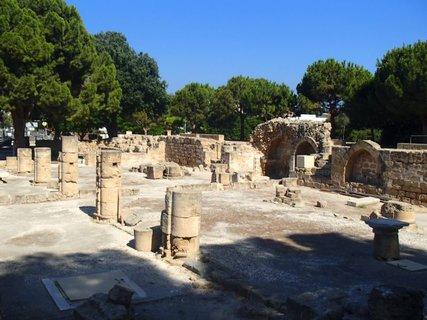FOTKA - Cyprus - Paphos - podľa legendy časť baziliky